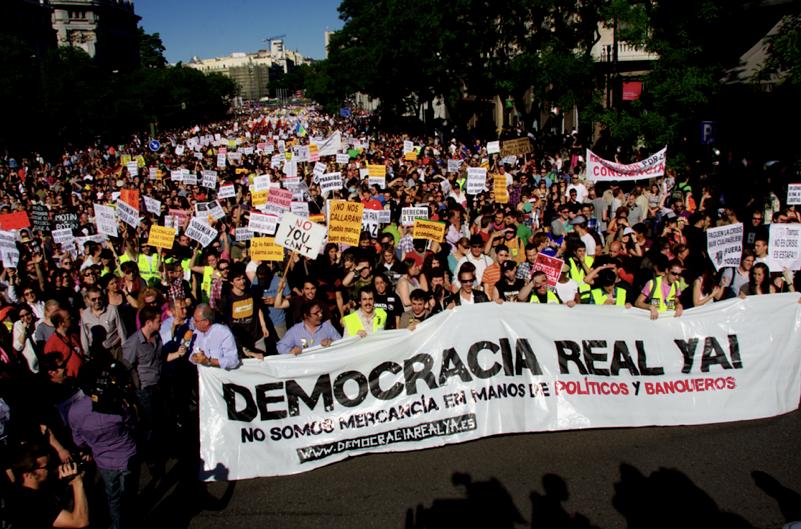 Manifestaciones 15M